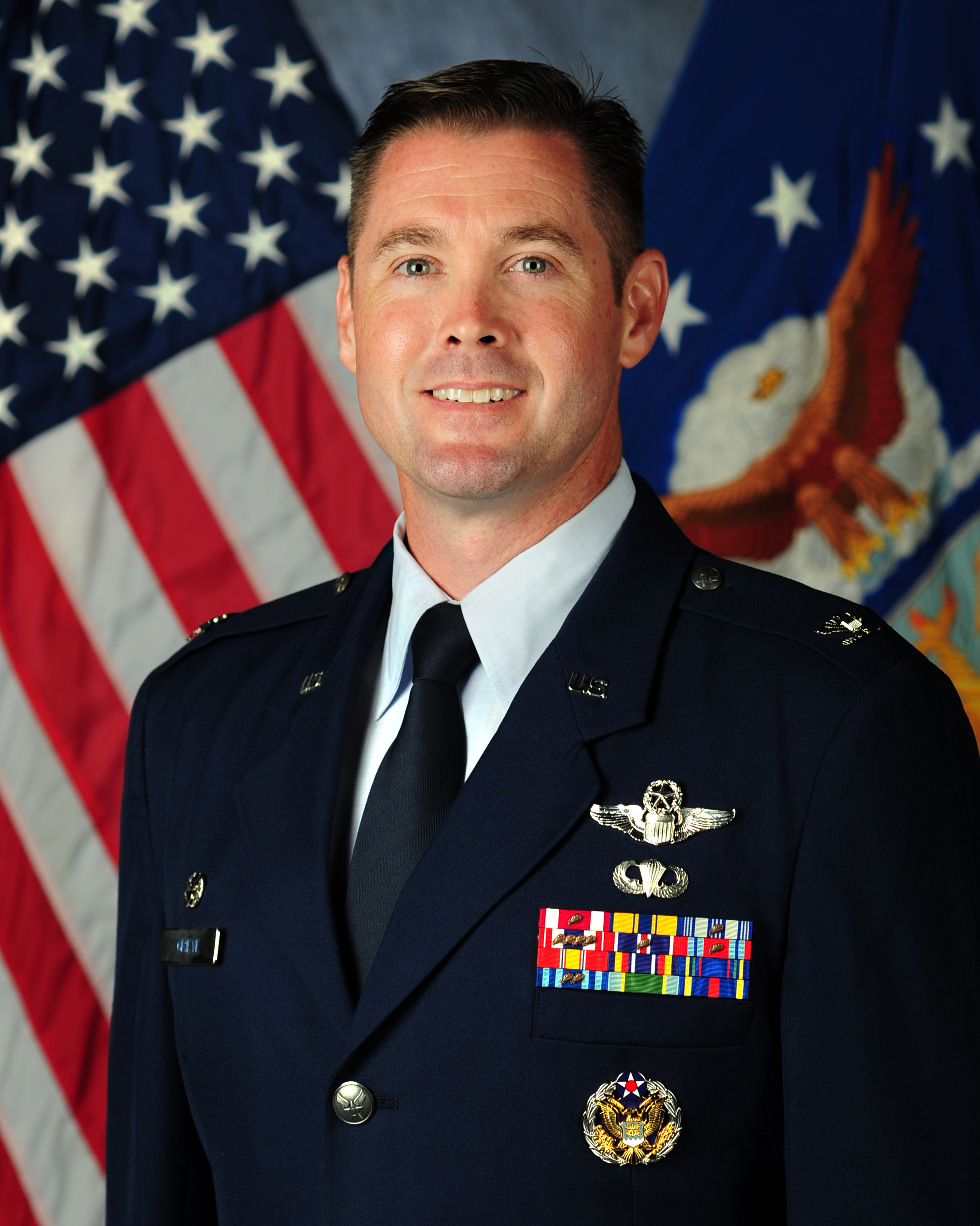 Col Grieve 509 Operations Group Commander