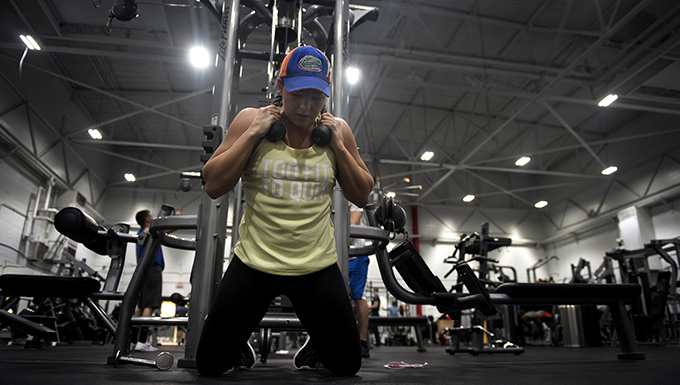 509th CONS Airman trains for fitness competition