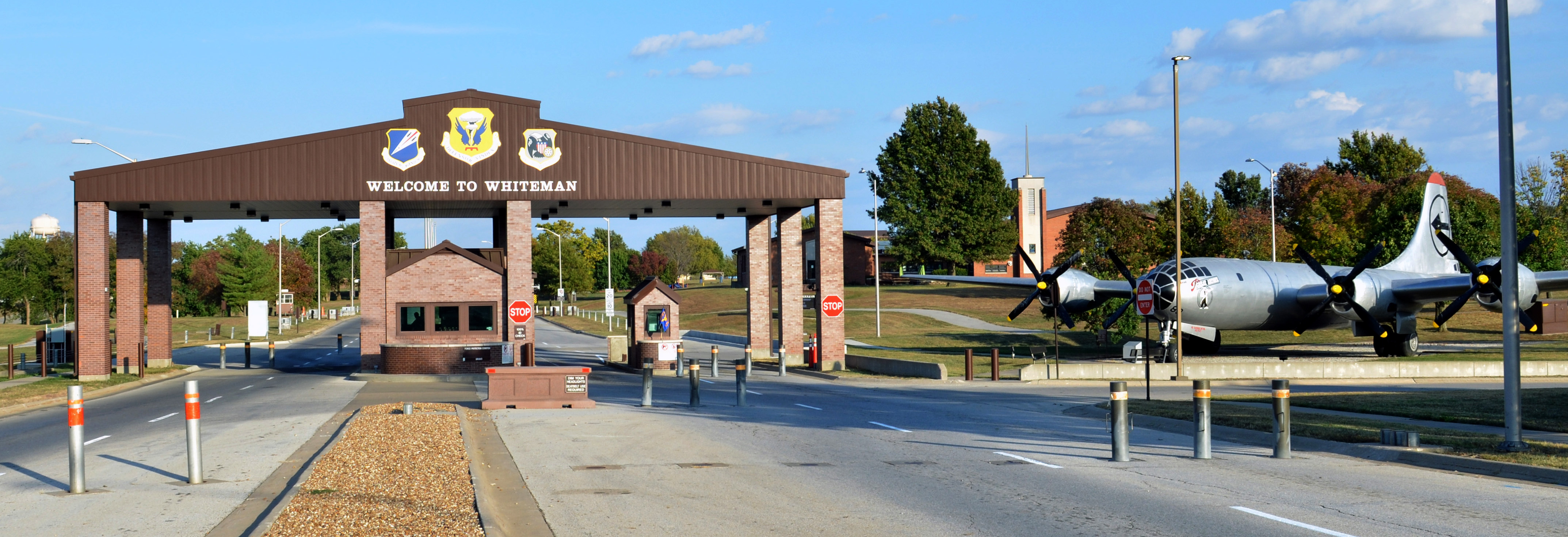 Whiteman Air Force Base Gate Information Page