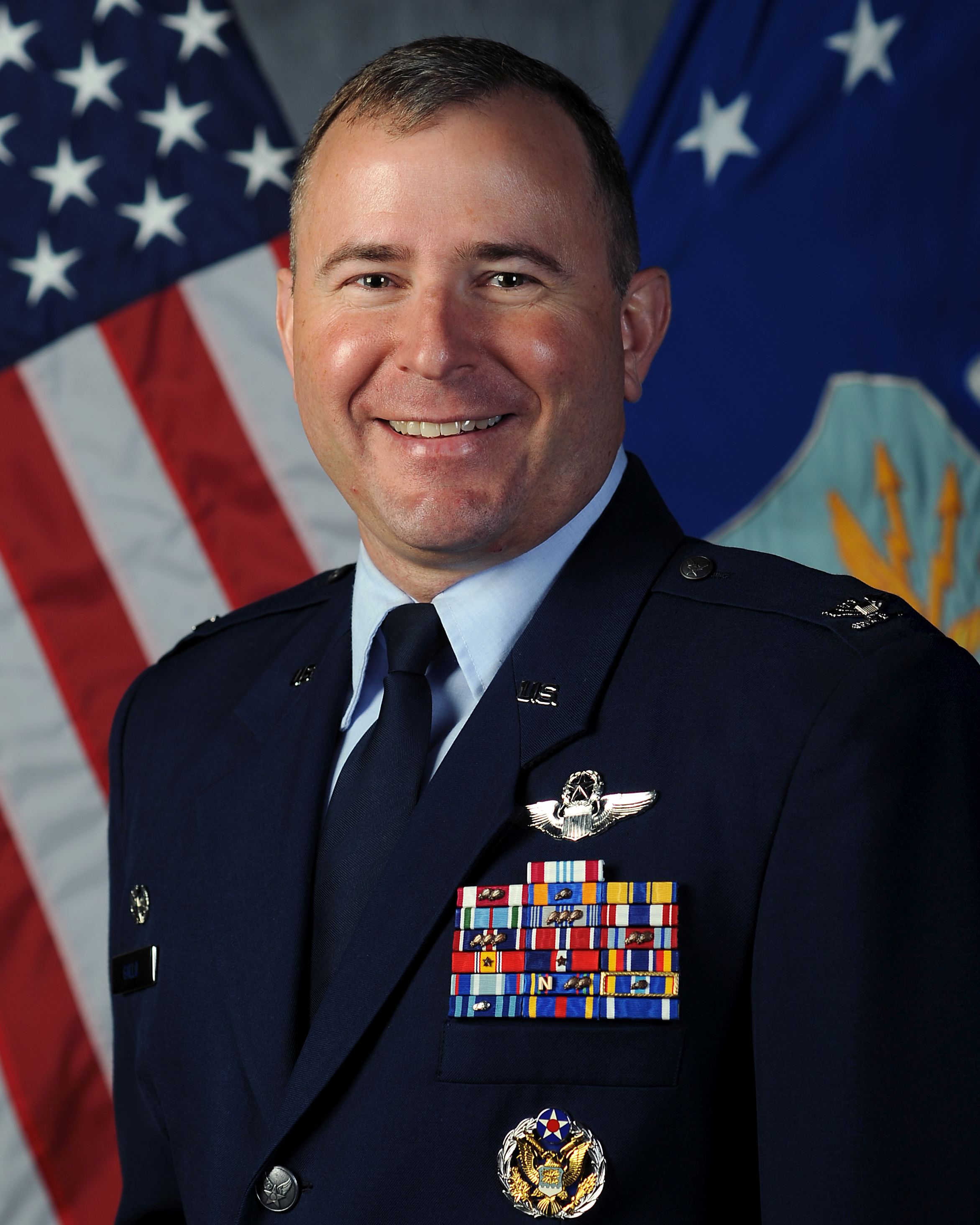 509th Operations Group Commander, Colonel Brian D. Gallo